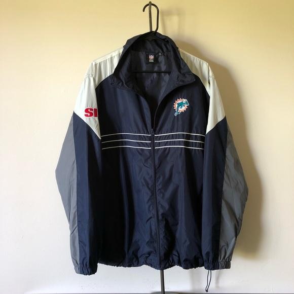 b0fb67b9 Miami Dolphins Reebok Sports Illustrated Jacket